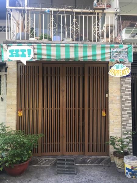 Mình cần cho thuê nhà nguyên căn 3x14(trệt + lầu) 1pn chính, 2 tolet. Đường Hưng Phú, Quận 8, 42m2, ,