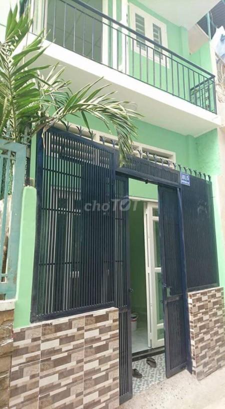 Cần cho thuê nhà rộng 42m2, 1 trệt 1 lầu, hẻm 101/5 Nguyễn Văn Đậu, Bình Thạnh, giá 8 triệu/tháng, 42m2, 2 phòng ngủ, 2 toilet