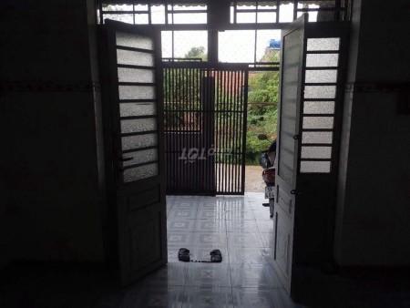 Nhà nguyên căn nằm trong hẻm cụt, rất thoáng cách đường Quách Điêu 200m, 56m2, 1 phòng ngủ, 1 toilet