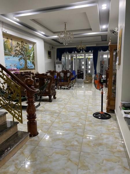 Nhà nguyên căn rộng 280m2 (7mx40m), 4 tầng 5 PN, giá 30 triệu/tháng. ĐC Nguyễn Văn Luông, Quận 6, 280m2, 5 phòng ngủ, 6 toilet