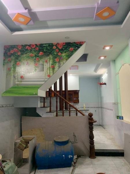Nhà 6 triệu 4mx14m 4PN đúc 3 tấm hẻm 5m Liên Khu 5-6, 56m2, 4 phòng ngủ, 3 toilet