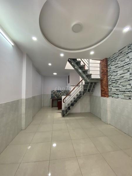 Nhà nguyên căn hẻm 250 đường số 8, Gò Vấp, chính chủ cho thuê giá 8 triệu/tháng, dtsd 48m2, 48m2, 2 phòng ngủ, 2 toilet