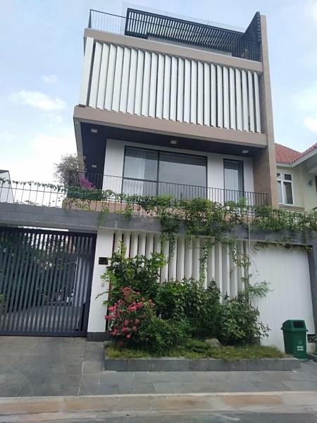 Villa Bình An cần cho thuê với giá 35 triệu/ tháng, Đầy đủ nội thất, có gara.., 158m2, 4 phòng ngủ,