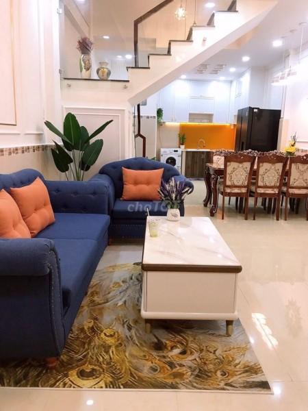 Nhà nguyên căn mới xây cho thuê với giá ưu đãi ngay đường Điện Biên Phủ quận Bình Thạnh. Thích hợp ở và cả kinh doanh., 150m2, 4 phòng ngủ, 3 toilet