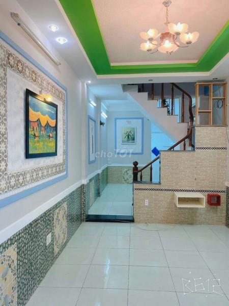 Nguyên căn hẻm Nơ Trang Long, Bình Thạnh cần cho thuê nhà rộng 36m2, 3 tầng, giá 11 triệu/tháng, 36m2, 3 phòng ngủ, 3 toilet
