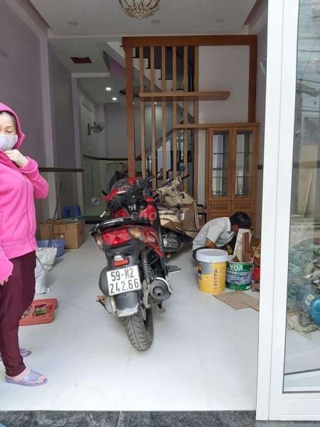 Cho thuê nhà Quận Bình Tân, 1 trệt, 3 lầu, dtsd 48m2, giá 7.5 triệu/tháng, lh 0965500046, 48m2, ,