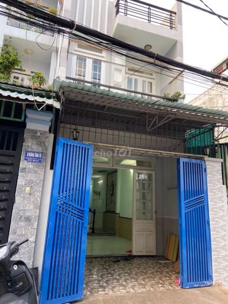 Nhà rộng 76m2, hẻm 1050 Quang Trung, Gò Vấp cần cho thuê giá 12 triệu/tháng, LHCC, 76m2, 3 phòng ngủ, 2 toilet