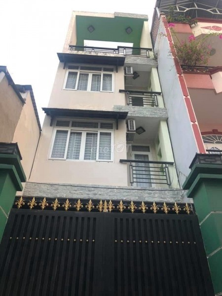 Nhà đường số 28 quận Gò Vấp, 3 lầu diện tích 4x12m giá thuê chỉ 11tr/tháng., 52m2, 5 phòng ngủ, 3 toilet