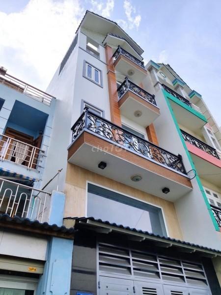 Nhà cho thuê nhà 319/25 Nguyễn Oanh, Gò Vấp. Nhà mới cho thuê giá cả phải chăng., 75m2, 4 phòng ngủ, 5 toilet