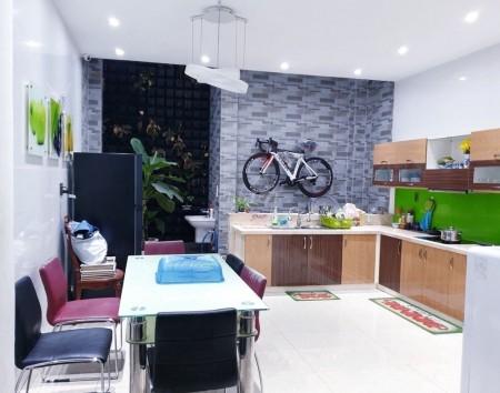 Nguyên căn 5x21m2 có 4 pn và 4 wc, Tại đường Cách Mạng Tháng 8 phường 12 quận Tân Bình, 180m2, 4 phòng ngủ, 4 toilet