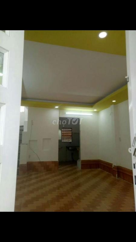 Có nhà hẻm đường số 59 Phạm Văn Chiêu, Gò Vấp cần cho thuê giá 6 triệu/tháng, dt 36m2, 36m2, 2 phòng ngủ, 1 toilet