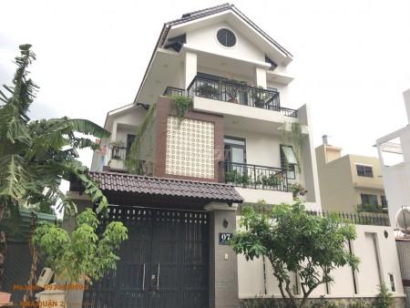 Cho thuê nguyên căn biệt thự tại An Phú quận 2. Trong khu biệt thự có bảo vệ, 200m2, 3 phòng ngủ, 3 toilet