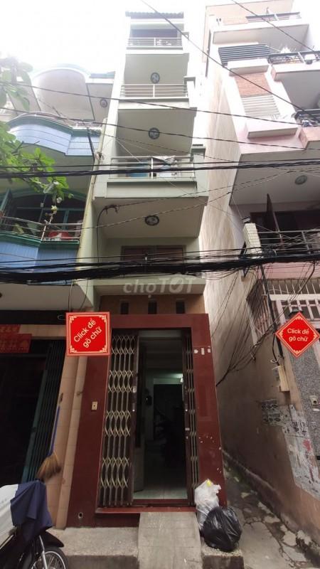 Nhà nguyên căn cho thuê tại Nguyễn Ngọc Lộc Quận 10 hẻm xe hơi giá thuê 10 triệu, 30m2, 3 phòng ngủ, 4 toilet