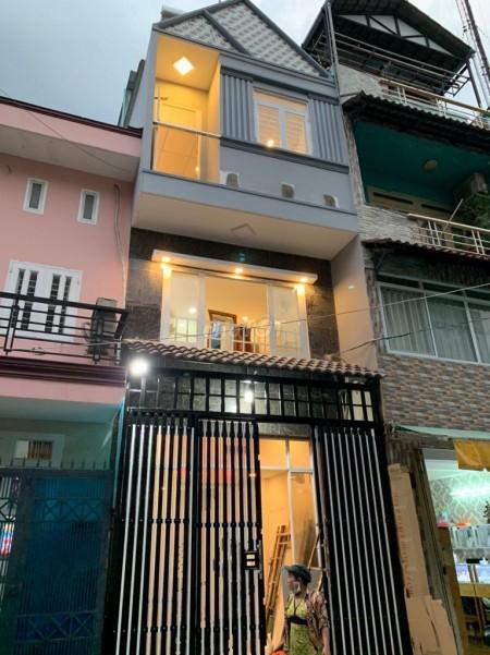 Nhà chính chủ cần cho thuê tại Quận 6 trên đường Kinh Dương Vương Phường 13 nhà 1 trệt và 2 lầu, 21m2, 2 phòng ngủ, 2 toilet