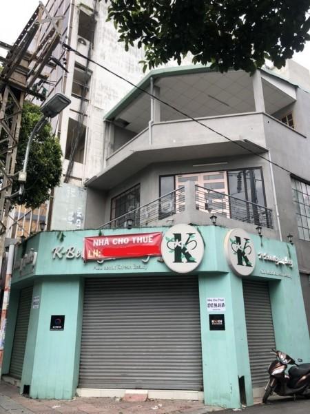 Cho thuê nhà ngay góc 2 mặt tiền đường Nguyễn Thị Minh Khai Quận 3. Thuận tiền kinh doanh, 99m2, 2 phòng ngủ, 2 toilet