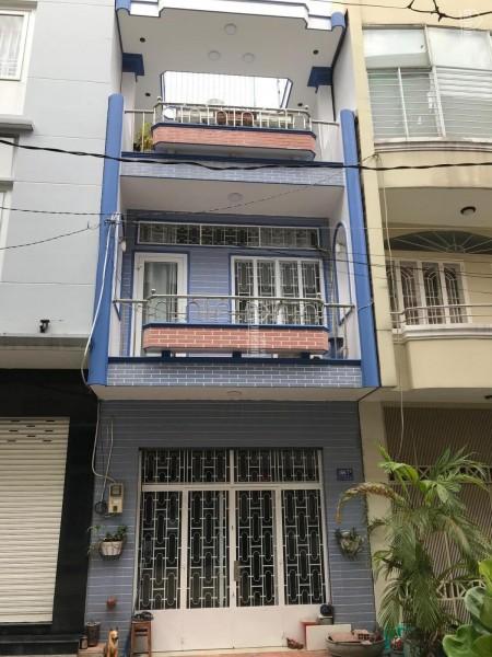 Nhà nguyên căn cho thuê tại Đường Chu Văn An Phường 12 Quận Bình Thạnh. 4m x 12m, trệt 2 lầu + tầng thượng, 48m2, 3 phòng ngủ, 3 toilet
