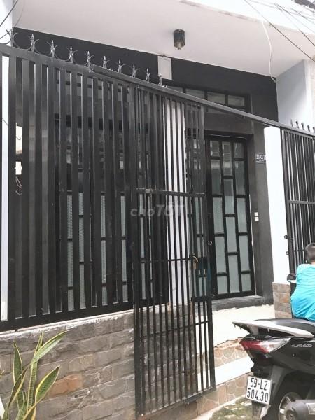 Chủ có nhà hẻm Hồ Thành Biên, Quận 8 cần cho thuê, giá 7 triệu/tháng, dtsd 80m2, 80m2, 2 phòng ngủ, 2 toilet