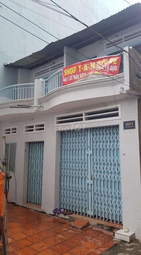Có nhà hẻm 103/1 Lũy Bán Bích, Quận Tân Phú cần cho thuê giá 6 triệu/tháng, dtsd 48m2, 480m2, 1 phòng ngủ, 1 toilet