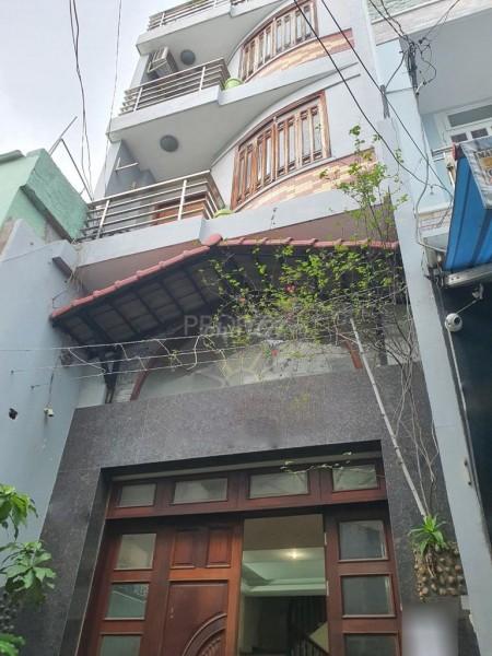Cho thuê nhà nguyên căn tại Đường Gia Phú Phường 1 Quận 6. Nhà 1 trệt 3 lầu cho thuê 20 triệu/tháng, 76.5m2, 5 phòng ngủ, 4 toilet
