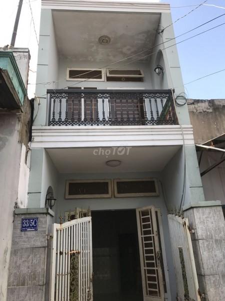 Cho thuê nhà nguyên căn rộng 35m2, hẻm 33/5C Phan Văn Hớn, Quận 12, giá 5 triệu/tháng, 35m2, 2 phòng ngủ, 1 toilet