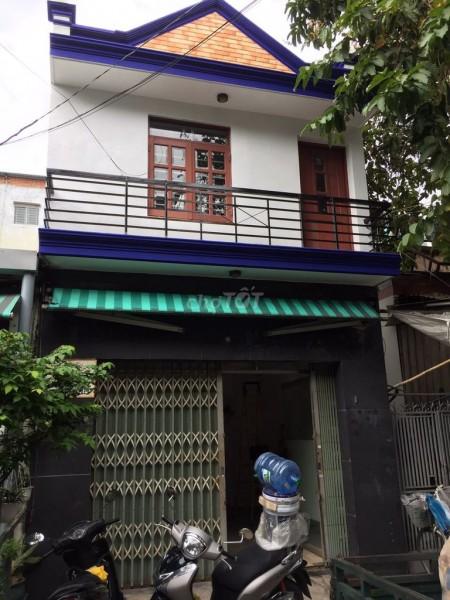 Cho thuê nhà nguyên căn 40m2 mới sạch sẽ, đẹp, 1 trệt 1 lầu ngay mặt tiền đường Lê Cao Lãng, 40m2, 2 phòng ngủ, 1 toilet