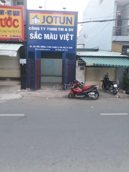 Cho thuê nhà cấp 4 nguyên căn ngay mặt tiền đường Hiền Vương rất thích hợp thuê ở và kinh doanh buôn bán kết hợp., 73m2, 2 phòng ngủ, 1 toilet
