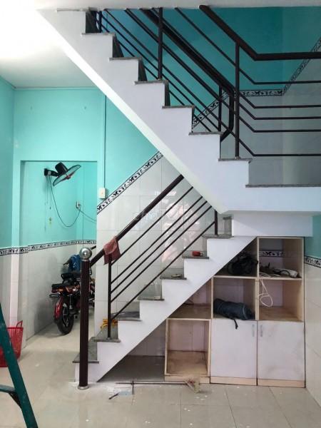 Trống nguyên căn 1 trệt, 1 lầu, còn mới, hẻm Tạ Quang Bửu, dtsd 23m2, giá 6 triệu/tháng, 23m2, 2 phòng ngủ, 2 toilet