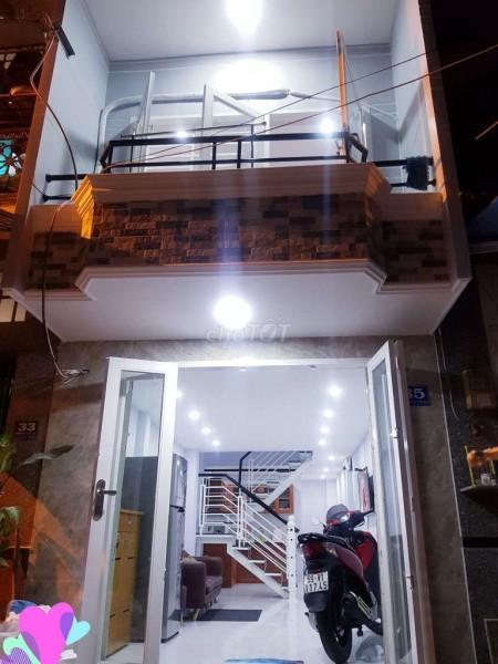Cho thuê nhà nguyên căn siêu đẹp mới tinh 1 trệt 1 lầu, 3m x 10m, 9 triệu/tháng, 30m2, 2 phòng ngủ, 2 toilet