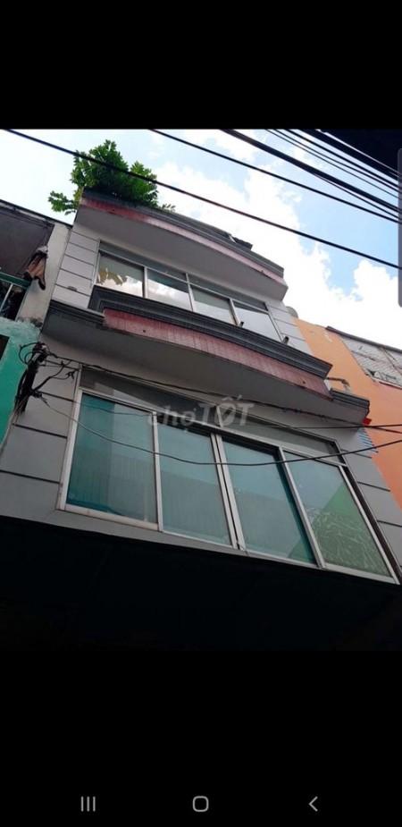 Nhà cho thuê nguyên căn tại Nam Kỳ Khởi Nghĩa Quận 3. Nhà 1 trẹt 2 lầu có sân thượng ( 3m x8m)., 24m2, 3 phòng ngủ, 2 toilet