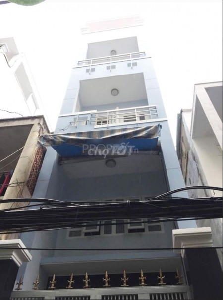Nhà 5 lầu tại Nguyễn Thiện Thuật Phường 3 Quận 3 nhà mới cho thuê giá rẻ chỉ 12 triệu/tháng, 30m2, 3 phòng ngủ, 3 toilet