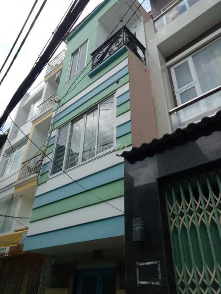 Cho thuê nhà nguyên căn tại Đoàn Văn Bơ P.18 Quận 4 gần cầu Kênh Tẻ, gần Công an Phường 14, 35m2, 2 phòng ngủ, 3 toilet