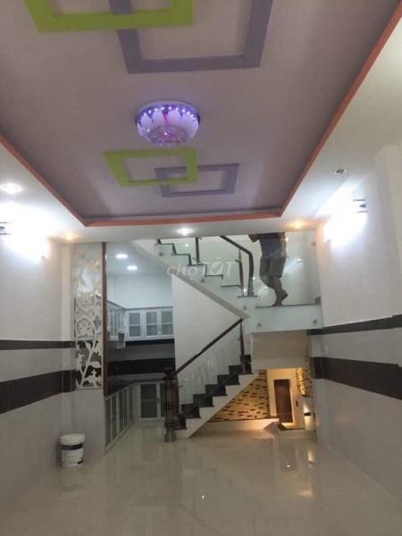 Cho thuê nhà rộng 50m2, 1 trệt, 1 lầu, hẻm an ninh Đô Đốc Long, Tân Phú, giá 9 triệu/tháng, 50m2, 3 phòng ngủ, 3 toilet