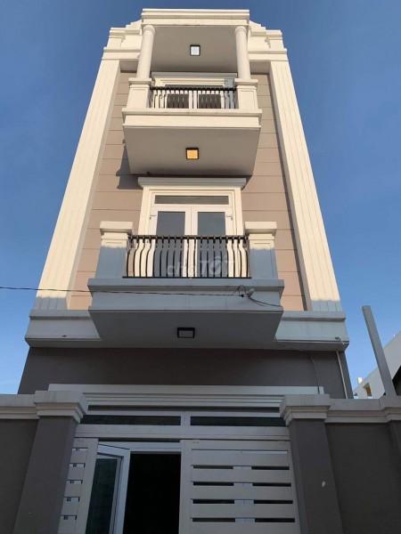 Cho thuê nhà nguyên căn 1 trệt 2 lầu vừa mới xây xong chưa ai ở tại Trường Thọ Quận Thủ Đức, 60m2, 4 phòng ngủ, 4 toilet