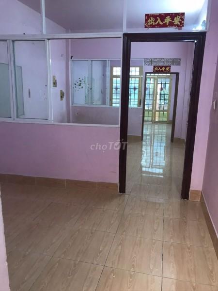 Cần cho thuê nhà nguyên căn rộng 72m2 (4mx18m), hẻm Kinh Dương Vương, Quận 6, giá 8 triệu/tháng, 72m2, 3 phòng ngủ, 2 toilet