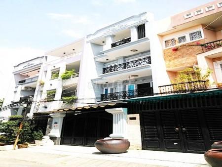 Nhà mới cho thuê nguyên căn mặt đường 12m, nhà liền kề khu dân cư Bình Lợi trên Đường Trục 30 Bình Thạnh, 61m2, 4 phòng ngủ, 3 toilet