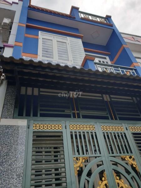 Nhà đẹp cho thuê nguyên căn giá rẻ tại Vĩnh Lộc B huyện Bình Chánh. Dtsd 54m2, 1 trệt 1 lầu mới tinh, 54m2, 2 phòng ngủ, 2 toilet