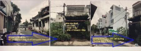 Nhà cho thuê nguyên căn 1 trệt 1 lầu tại đường Lê Thị Hà Tân Xuân Huyện Hóc Môn. Nhà 81m2 cho thuê 7 triệu, 81m2, 2 phòng ngủ, 2 toilet