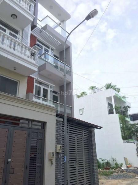 Nhà mới Đường Số 16, p.Bình Hưng Hòa A q.Bình Tân. Diện tích 4m x 15m, 60m2, 4 phòng ngủ, 5 toilet