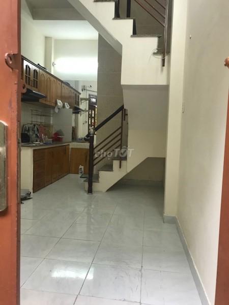 Cho thuê nhà nguyên căn đúc 2 tầng kiên cố tại hẻm 222 Bùi Đình Túy Quận Bình Thạnh, 25m2, 2 phòng ngủ, 2 toilet