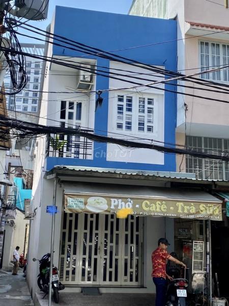 Nhà mặt tiền đường 36 D2 Phường 25 Bình Thạnh, Diện tích 4m x 12m, 1 trệt 1 lầu, 50m2, 2 phòng ngủ, 2 toilet