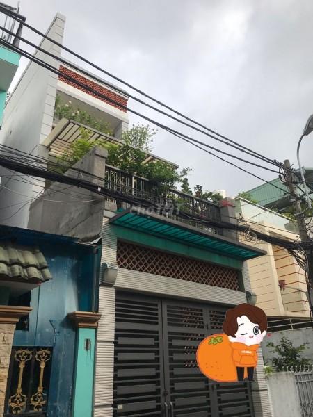 Nhà nguyên căn 4m x 20m, nhà mới đẹp cho thuê 15 triệu/tháng tại Quang Trung Phường 10 Gò Vấp, 80m2, 3 phòng ngủ, 2 toilet