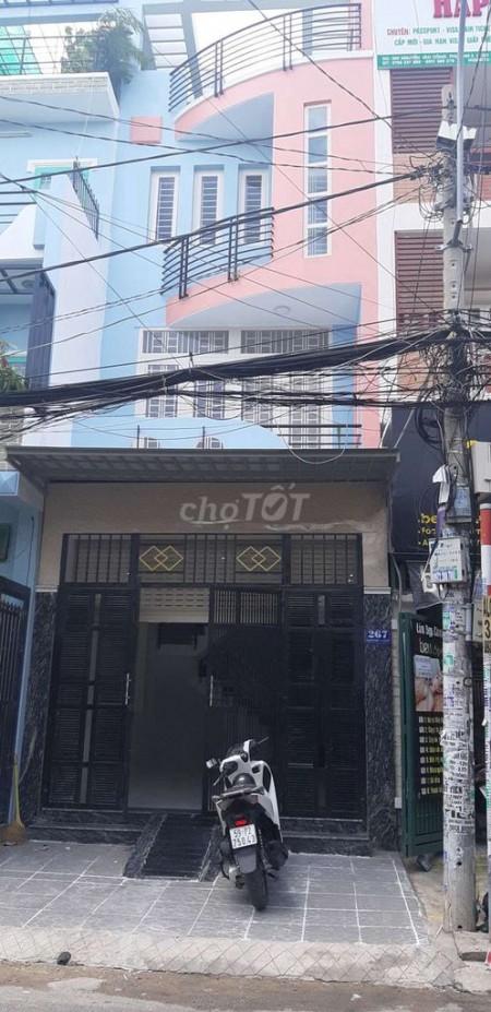 Nhà nguyên căn 267 Nguyễn Văn Công, 4m x 16m, 1 trệt 3 lầu 1 sân thượng, 5PN, 56m2, 5 phòng ngủ, 3 toilet