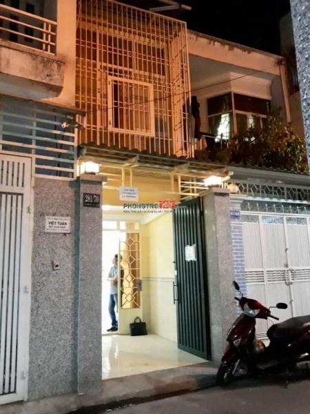 Nhà cho thuê nguyên căn hxt 3mx11m 1 trệt 1 lầu 1 phòng ngủ tại Lê Văn Sỹ quận Tân Bình, 30m2, 2 phòng ngủ, 2 toilet