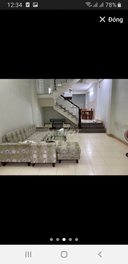 Nhà nguyên căn 1 trệt 1 lầu, 64m2, nhà mới, sạch đẹp cho thuê 12 triệu/tháng tại mặt đường Dương Thiệu Tước, 64m2, 2 phòng ngủ, 3 toilet