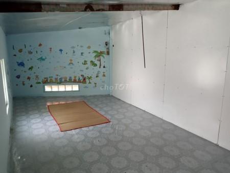 Mình cần cho thuê nhà rộng 60m2, 2 PN, chưa nội thất, hẻm 110/17 Dân Tộc, Tân Phú, giá 6 triệu/tháng, 60m2, 2 phòng ngủ, 1 toilet