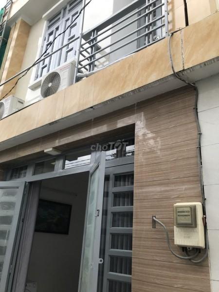 Nhà nguyên căn cho thuê 1 trệt 1 lầu mới tinh, có thể vào ở ngay tại Phạm Hữu Lầu, Nhà Bè, 40m2, 2 phòng ngủ, 2 toilet