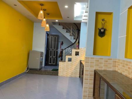 Cho thuê nhà nguyên căn gần Bùi Viện, 3 lầu và 1 trệt, dtsd 110m2, 26m2, 3 phòng ngủ, 4 toilet