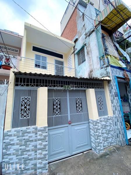 Cho thuê nhà nguyên căn 1 trệt 1 lầu tại Đoàn Văn Bơ, trong hẻm cụt, an ninh, yên tĩnh, 37m2, 2 phòng ngủ, 1 toilet