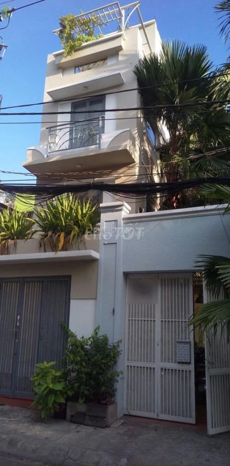 Cần cho thuê nhà riêng 3 tầng tổng diện tích sử dụng 200m2 tại Cư Xá Phú Lâm D, 64m2, 4 phòng ngủ, 3 toilet