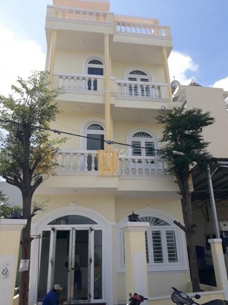 Cho thuê nhà nguyên căn 1 trệt 2 lầu và có 1 tum nhỏ tổng diện tích 54.6m2 tại Phường Phú Hữu Quận 9, 54.6m2, 4 phòng ngủ, 3 toilet